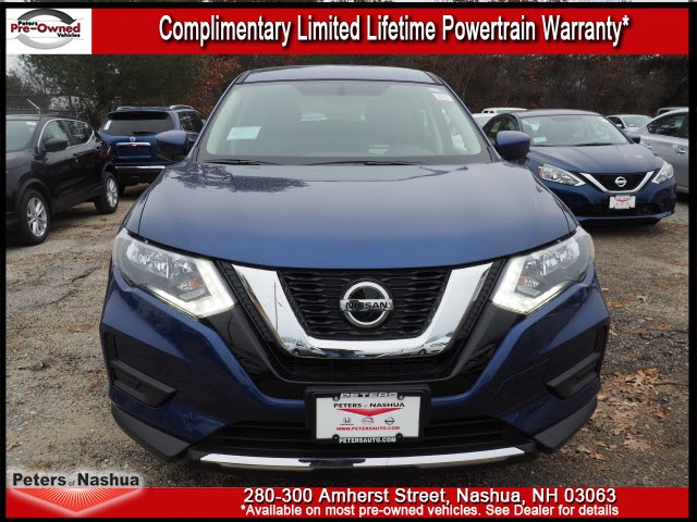 New 2018 Nissan Rogue S 4D Sport Utility in Nashua #18N171 | Peters